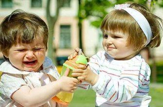 Ребёнок не хочет делиться