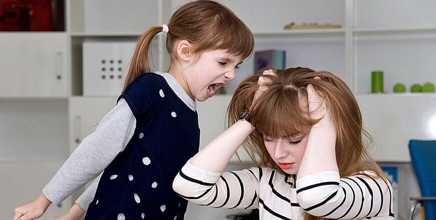 дети ругаются