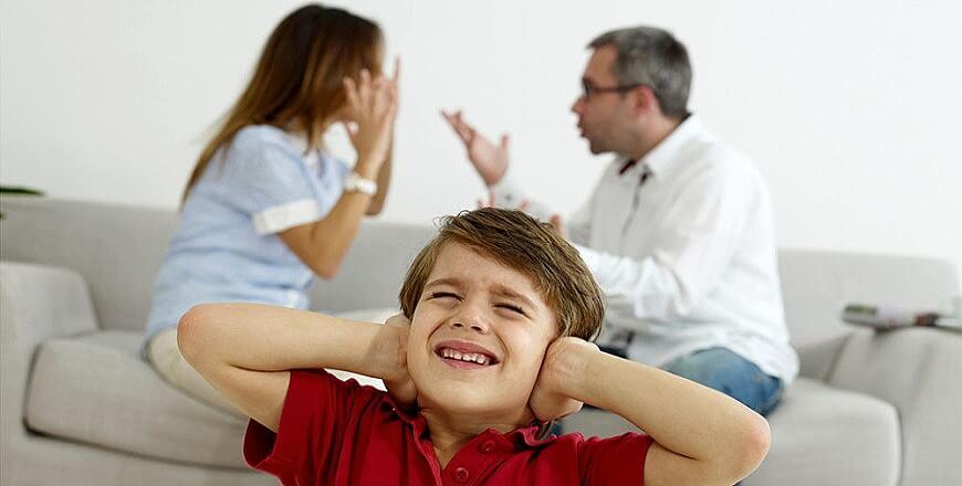 обстановка в семье: агрессия у детей
