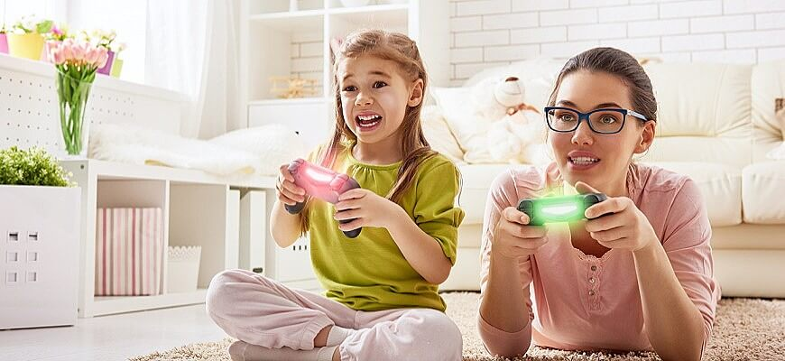 видеоигры: советы родителям