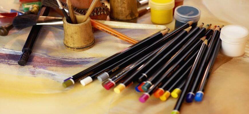 карандаши краски
