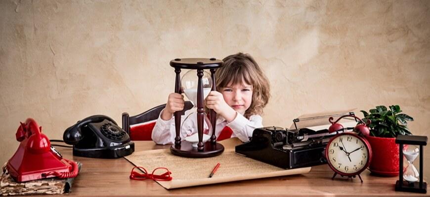 Как научить ребёнка планировать своё время?