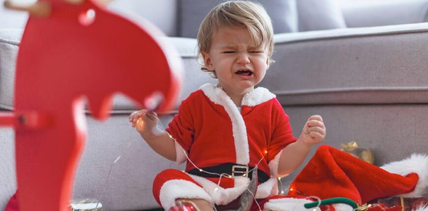 В чем причины детских истерик?