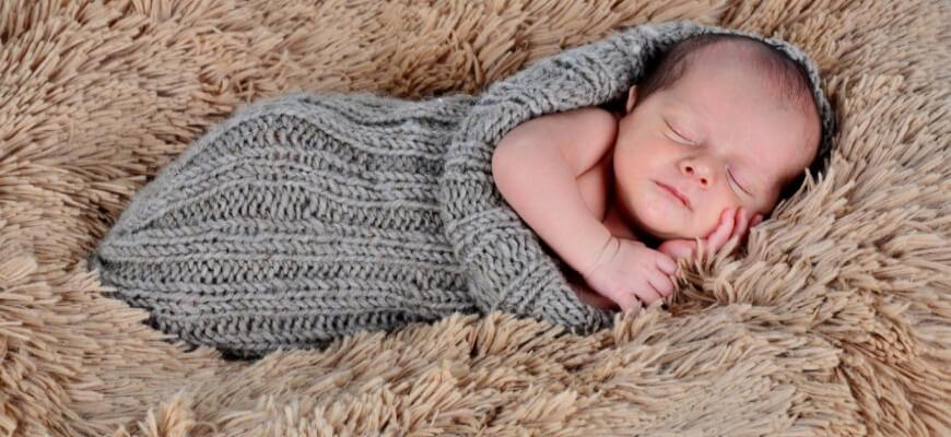 ребёнок спит отдельно