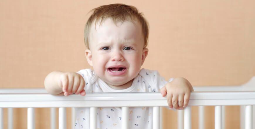 Боязнь разлуки у малышей