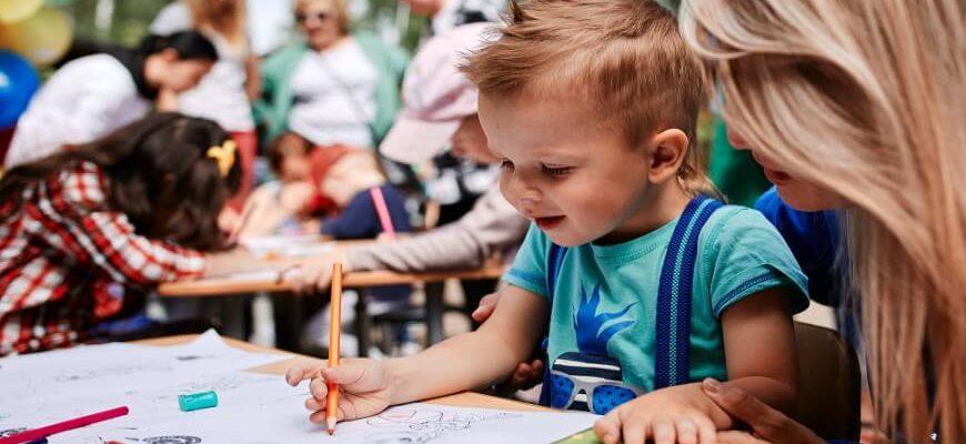 Каким цветом рисует ребёнок